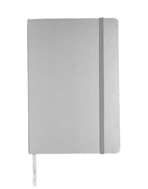 Notitieboek Luxe Zilver Bedrukken