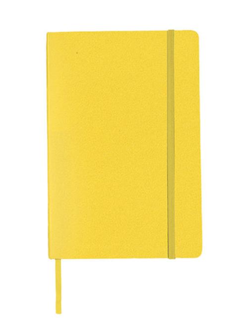 Notitieboek Luxe Geel Bedrukken