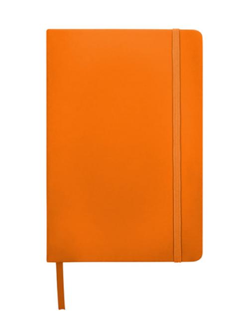 notitieboek-oranje