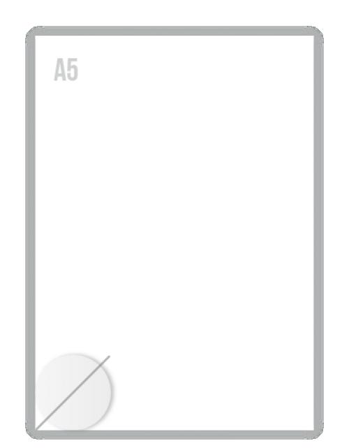 Witte Folie Stickers Diameter 40mm Drukken