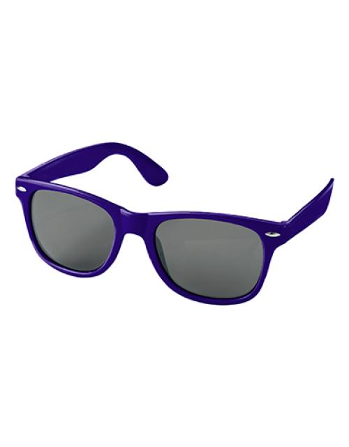 Bedrukte Zonnebrillen Paars