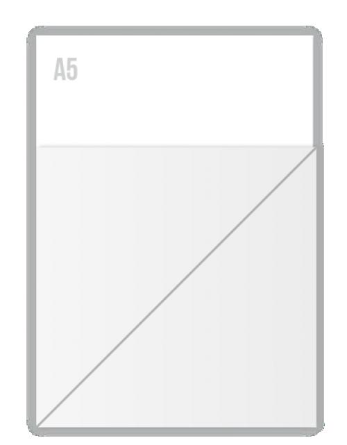 Witte Folie Stickers 150 X 150mm Drukken