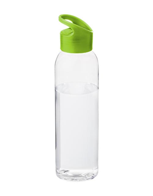 Drinkfles Transparant Groen Bedrukken