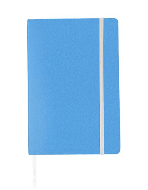 Notitieboek Luxe Lichtblauw Bedrukken