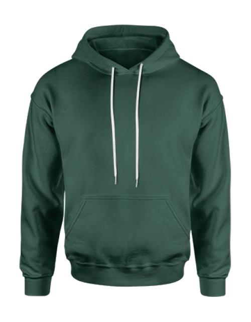 hoodie-donkergroen