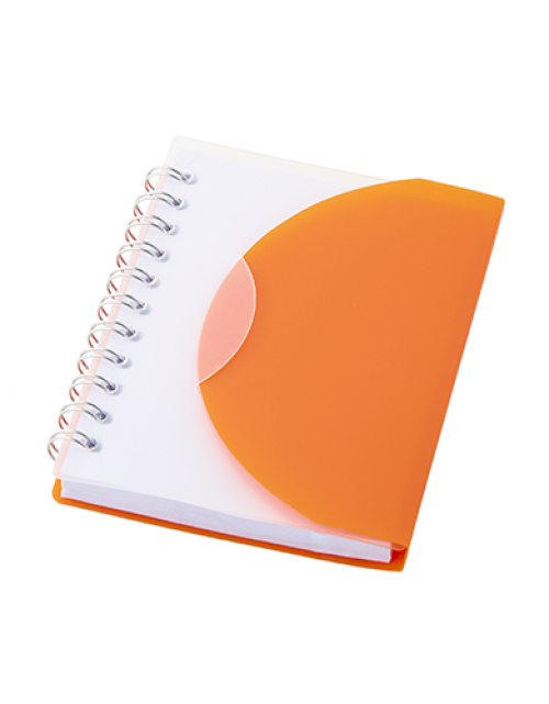 notitieboek-modern-oranje
