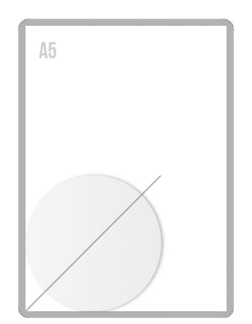 Witte Folie Stickers Diameter 100mm Drukken