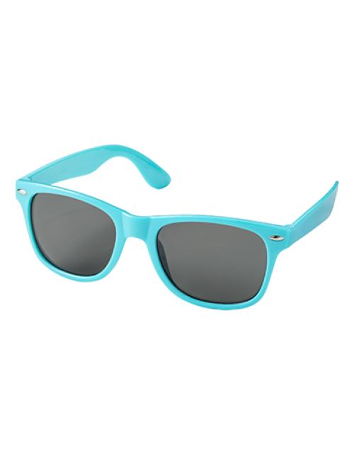 Bedrukte Zonnebrillen Turquoise