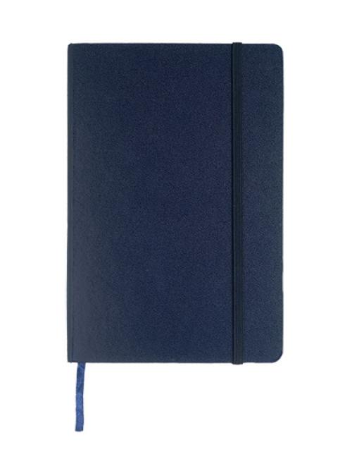 Notitieboek Luxe Donkerblauw Bedrukken