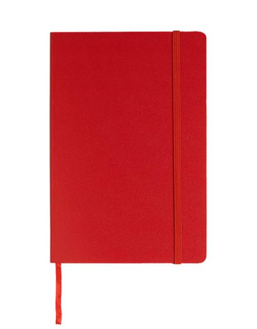 Notitieboek Luxe Rood Bedrukken