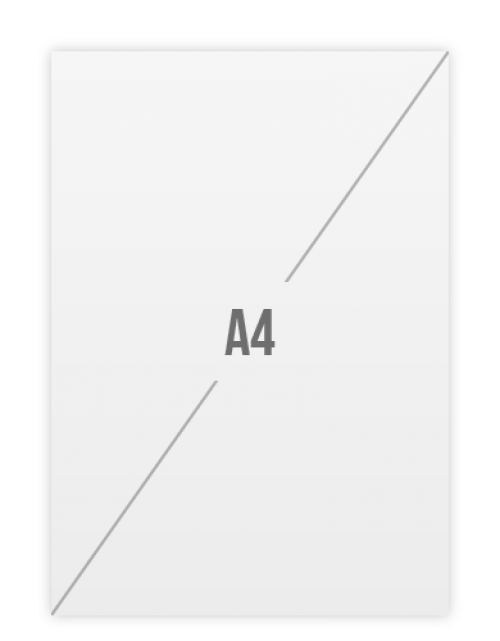 Ansichtkaarten A4 Drukken