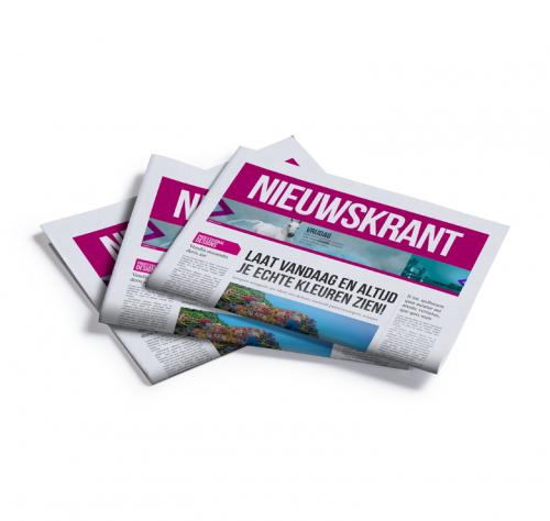 Kranten drukken