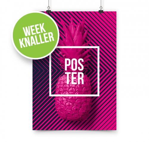 Posters A2 Actie week 21